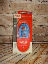 7Ft RCA cat5e Network cable tph530b BLUE 100MHZ NEW