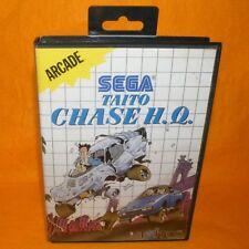 VINTAGE 1990 SEGA MASTER SYSTEM TAITO CHASE H.Q. ARCADE CARTRIDGE VIDEO GAME