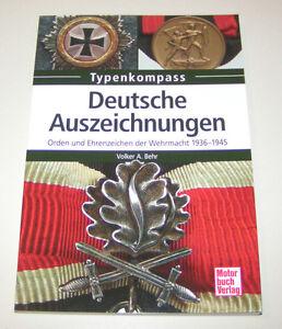 Deutsche Auszeichnungen - Orden und Ehrenzeichen der Wehrmacht - 1936 bis 1945