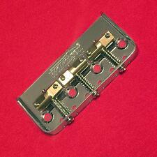 Guitar Parts WILKINSON Bridge - HALF TELE 1/2 Telecaster - Brass Saddle - CHROME