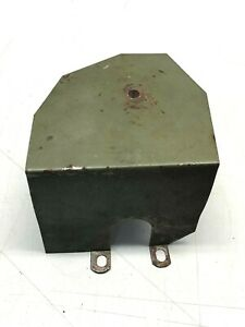 Tin Cover for Fuel Pump from a Wisconsin V465 Engine
