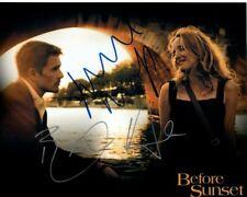 Ethan Hawke & Julie Delpy Signed Before Sunset Photo w/ Hologram Coa