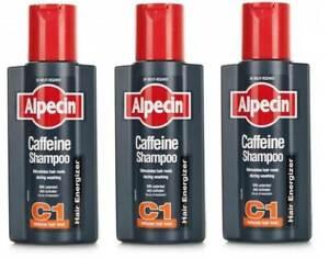 Alpecin Caffeine Shampoo - 250ml - Pack of 3
