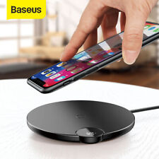 Baseus 10W Qi Wireless Charger LED Charging Pad for iPhone XS Max Galaxy S10 S9