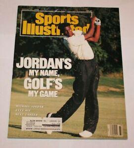 1989 Michael Jordan Sports Illustrated Magazine NBA Basketball PGA Golf