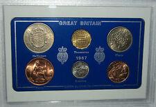 1967 Vintage Moneda establece 50th cumpleaños regalo de boda aniversario de nacimiento año actual