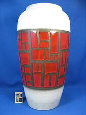 """Rare / seltene 70´s design Schlossberg """" Fanal """" Keramik pottery vase 624 - 45"""