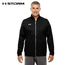 MEN'S UNDER ARMOUR UA ULTIMATE TEAM STORM FULL ZIP JACKET 1259102-001 3XL 4XL