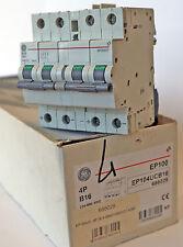 Interruttore Magnetotermico General Electrics EP100UC 4P 16A B 880/1000 Vcc 4,5M