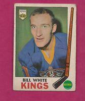 1969-70 OPC # 101 KINGS BILL WHITE VG CARD (INV#1677)