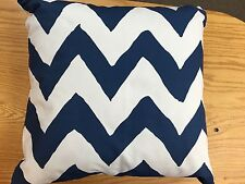 "Dana Gibson 22"" Navy  Bargello 22"" pillow"