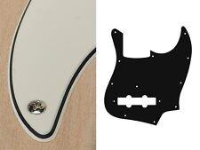 battipenna pickguard fender jazz bass vintage white bianco 10 fori jb-310-vw