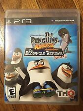 The Penguins Of Madagascar Dr Blowhole Returns Again( PlayStation 3) complete