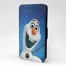 Para Funda para Estuche Abatible Apple iPod Touch Frozen Olaf-G1408