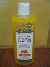 OAKWOOD Wood Care Preserve and Protect.