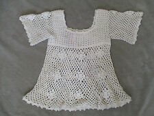 Vintage Women's Girl's Crochet Top  Size M  Sheree Massoquao Original  1970s