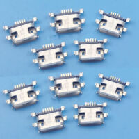 10Pcs Micro USB Type B Female 5Pin SMT Socket Jack Connector Port PCB Board