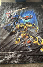 Reversible transformers twin comforter bedding and Light Switch plate