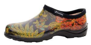 Sloggers Rain and Garden Shoe Women's Size 7 Midsummer Black