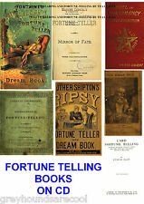 Vintage Fortune Telling Tea Leaves Tarot 17 Books on a Data Disc PDF files