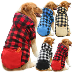 Dog Hoodie Clothes With Hat Pet Winter Clothes Warm Coat Sweater for Small Dogs