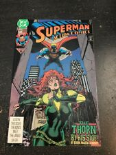Action Comics#669 Incredible Condition 8.5(1991) Thorn App, Jurgens Cover!