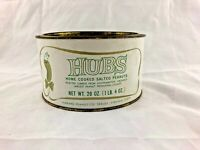 Vintage - HUBS - Home Cooked Salted Peanuts - Tin Can
