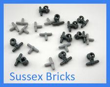 Lego Technic - 20x Pneumatic Hose Connector 10x 99021 10x 4697 - New Pieces