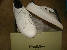 New listing Goodfellow & Co. Luther White Tennis Shoes Sneaker Mens Size  11