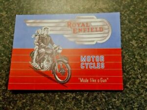 ROYAL ENFIELD POSTCARD