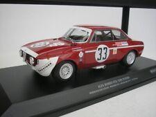 ALFA ROMEO GTA 1300 JUNIOR #33 4hrs JARAMA 1972 1/18 MINICHAMPS 155721233 NEU