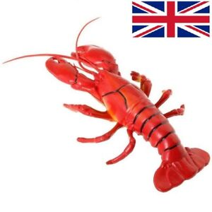 12x5 inch Big Fake Lobster Model Dispaly Artificial Marine Animals Decoration