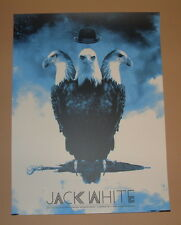 Jack White Silent Giants Detroit Evening Show Concert Poster Print 2012