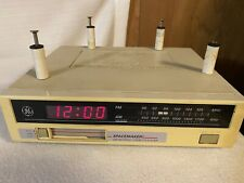 GE Spacemaker AM FM Radio Cassette Player 7-4260A Tested Works Includes Hardware