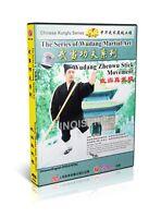 Chinese Kungfu Martial Art - Wudang Series Zhenwu Stick Movement by Yue Wu DVD