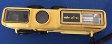 Minolta Weathermatic a waterproof underwater diver camera.