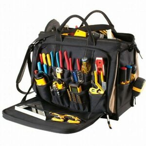 CLC Work Gear Multi-Compartment Tool Carrier Bag 18-inch