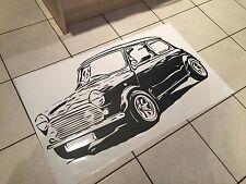Austin Rover Mini BMW Massive Wall Art Vinyl Sticker 39inch X 21inch - Free P&P