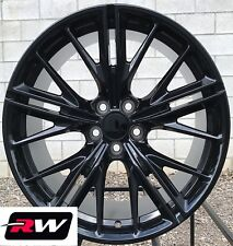 "(2) 20x10"" (2) 20x11"" RW Wheels 2017 Chevy Camaro ZL1 Style Gloss Black Rims"