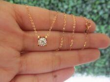 .165 CTW Diamond Necklace 18k Rose Gold N37 sep
