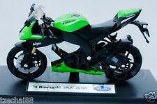 New Die Cast Motorcycle Welly Kawasaki Ninja ZX-10R Collection Christmas Gift