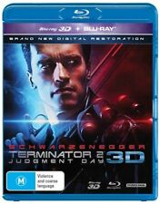 Terminator 2: Judgment Day  Blu Ray (2d copy only no 3d copy)