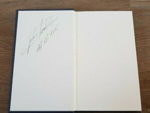 JOHN SURTEES HAND SIGNED BOOK FORMULA 1 LEGEND HARDBACK BOOK AUTOGRAPHED , RARE