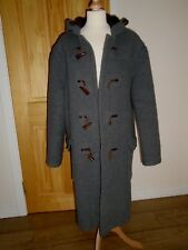 "Original Classic Gloverall Duffle Coat-Grey with Check Lining - 46"" Chest"