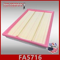 FA5716 AF3217 VA-373 OEM QUALITY ENGINE AIR FILTER: 2007-08 X5 2009-10 X5 XDRIVE