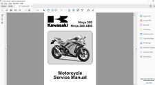 DOWNLOAD SERVICE MANUAL 2013 2017 kawasaki NINJA EX 300 ABS