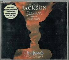 "Michael Jackson ""Scream and Childhood"" CD"