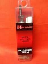 HORNADY Reloading Tools 458 Win (.458) Full Length/Sizing Die Item #046570