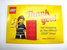 NEW SLD LEGO Retail Store Employee 5001622 POLY BAG MINIFIGURE SET And Envelope