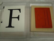 """Stampin Large """"F"""" Letter or Background """"Monogram F"""" Combine Shipping"""" 50+ Sets"""